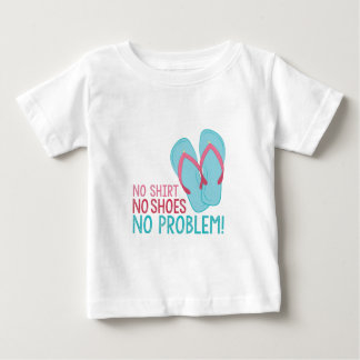靴無し ベビーTシャツ