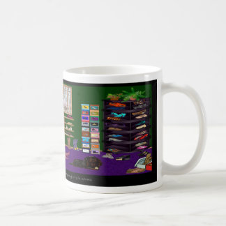 靴部屋のマグ コーヒーマグカップ