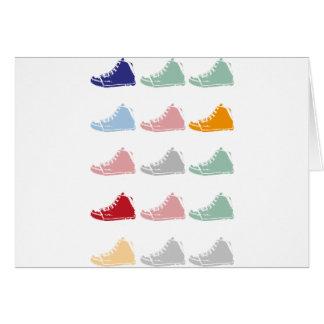 靴 グリーティングカード