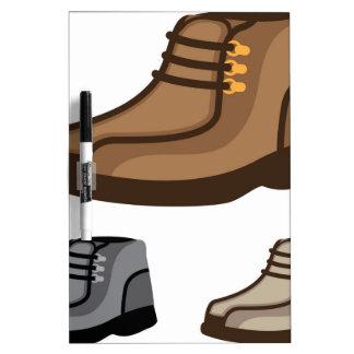 靴 ホワイトボード