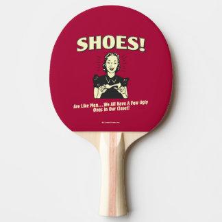靴: 人のようであって下さい 卓球ラケット