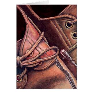 靴: www.AriesArtist.com グリーティングカード