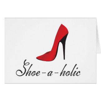 靴holic グリーティングカード