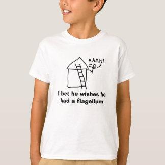 鞭毛 Tシャツ