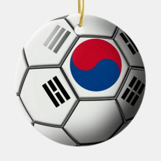 韓国のサッカーのオーナメント セラミックオーナメント