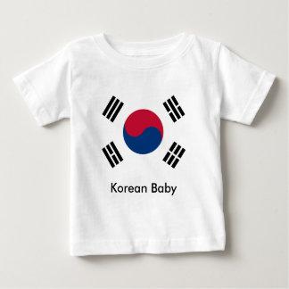 韓国のベビー ベビーTシャツ