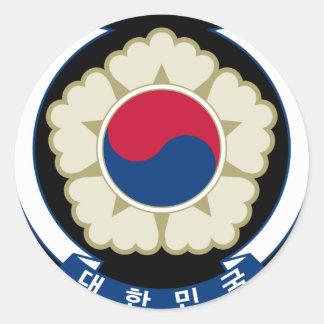 韓国の南紋章 ラウンドシール