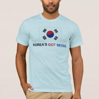 韓国の得られたソウル Tシャツ