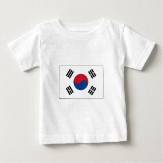 韓国の旗インターナショナル ベビーTシャツ