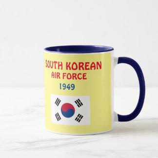 韓国の空軍クラシックのマグ マグカップ