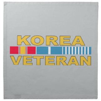 韓国の退役軍人 ナプキンクロス