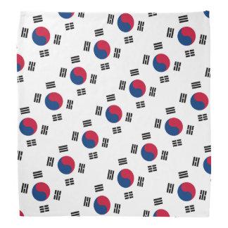 韓国の韓国の旗のバンダナ|色 バンダナ