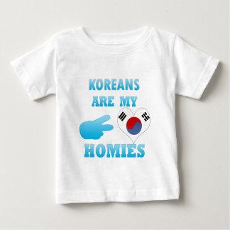 韓国人は私のHomiesです ベビーTシャツ