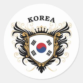 韓国 ラウンドシール