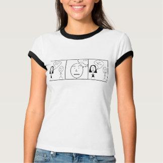 音楽おたくの漫画 Tシャツ