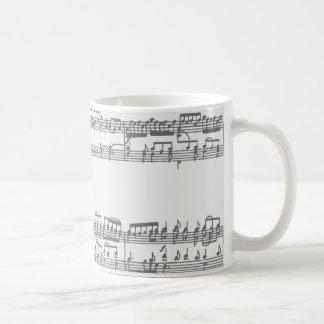 音楽および回路 コーヒーマグカップ