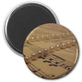 音楽および真珠の磁石 マグネット