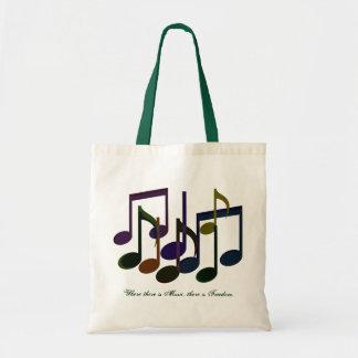 音楽があるところ トートバッグ