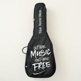 音楽が自由に乾燥しますブラシのタイポグラフィを置くようにして下さい ギターケース
