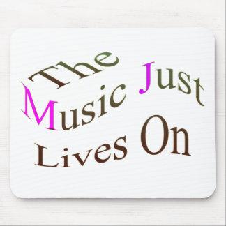 音楽ちょうど生命 マウスパッド