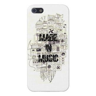 音楽で出来た iPhone 5 カバー