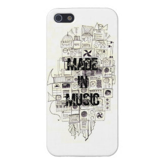 音楽で出来た iPhone SE/5/5sケース