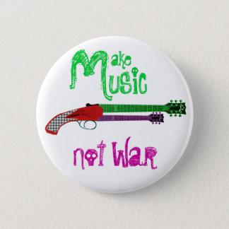 音楽ない戦争をして下さい 缶バッジ