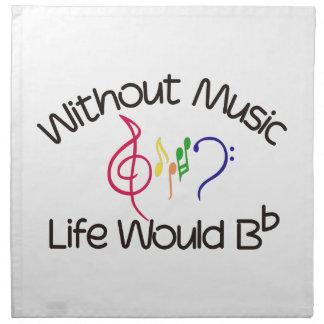 音楽なし ナプキンクロス