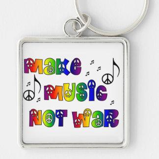 音楽にキーホルダーをして下さい キーホルダー