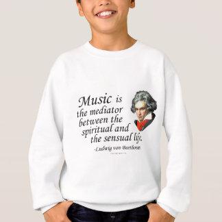 音楽のベートーベン スウェットシャツ