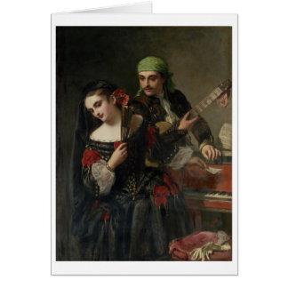 音楽のレッスン、セヴィル カード