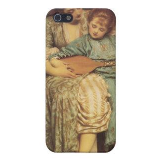 音楽のレッスン-フレデリックLeighton主 iPhone 5 Case