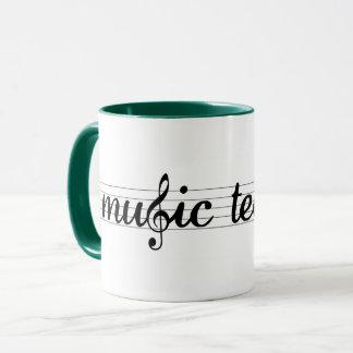 音楽の先生のマグ マグカップ