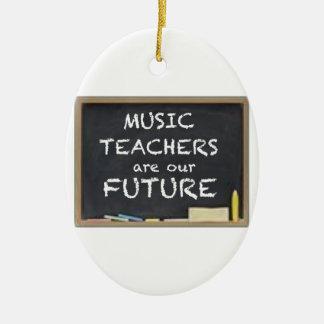 音楽の先生は私達の未来です セラミックオーナメント