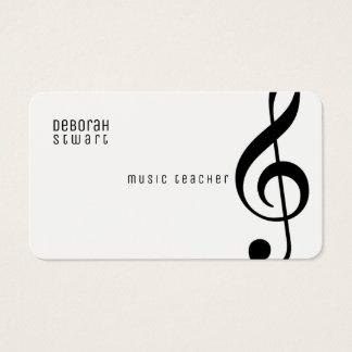 音楽の先生 名刺