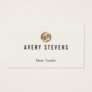 音楽の先生、音楽ノート、ミュージシャン 名刺