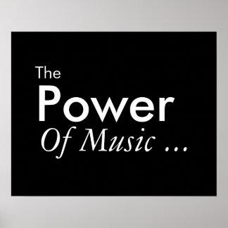 音楽の力 ポスター