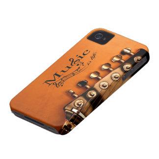 音楽はギター機械頭部との生命です Case-Mate iPhone 4 ケース