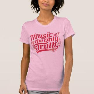 音楽は唯一の真実- www.zrcebea.chの服装です tシャツ