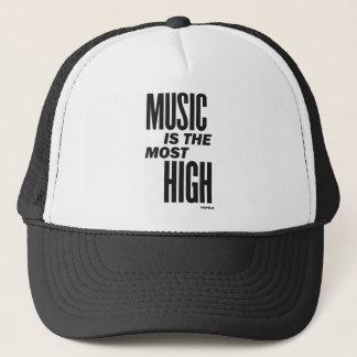 音楽は最も高いです キャップ