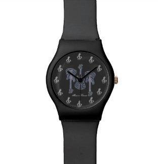 音楽は永遠です 腕時計