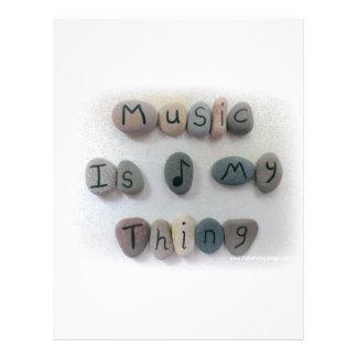 音楽は私の事です レターヘッド
