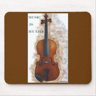 音楽は私の生命マウスマットです マウスパッド