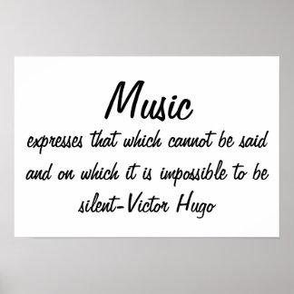 音楽は…表現します ポスター