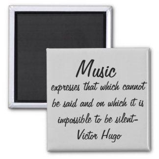 音楽は…表現します マグネット