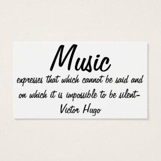音楽は…表現します 名刺