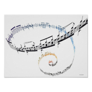 音楽はFanataisieに基づいています ポスター
