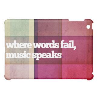 音楽はiPadの場合を話します iPad Mini カバー