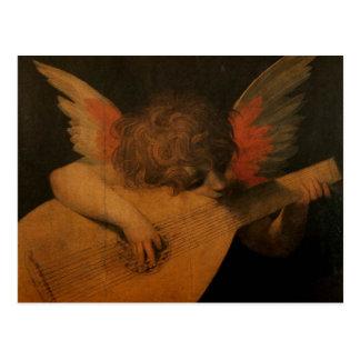音楽を遊ぶ天使 ポストカード