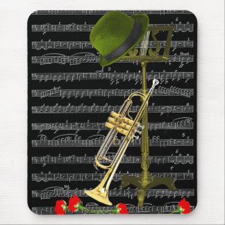 音楽を遊んで下さい。 マウスパッド